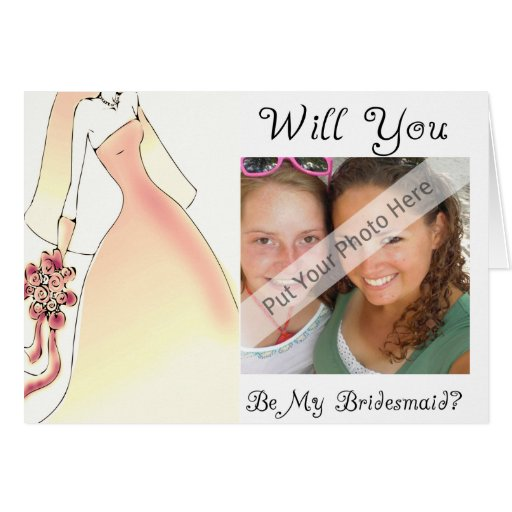 Will You Be My Bridesmaid Card-Personalized