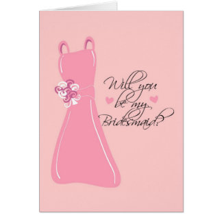 """Will you be my Bridesmaid?"" Cards"