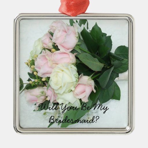 Will You Be My Bridesmaid Christmas Ornament