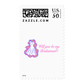 Will You Be My Bridesmaid (Dress) Postage