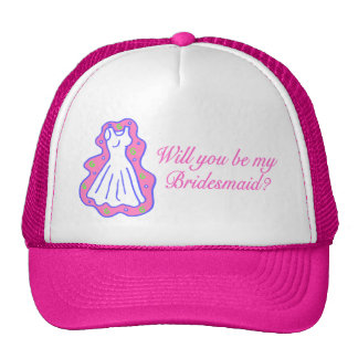 Will You Be My Bridesmaid (Dress) Trucker Hat