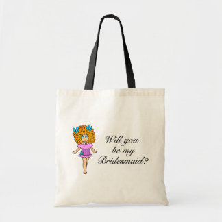 Will You Be My Bridesmaid (Girl) Tote Bag