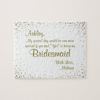 Will You Be My Bridesmaid? Jigsaw Puzzle
