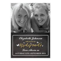 Will You Be My Bridesmaid | Photo Invitation