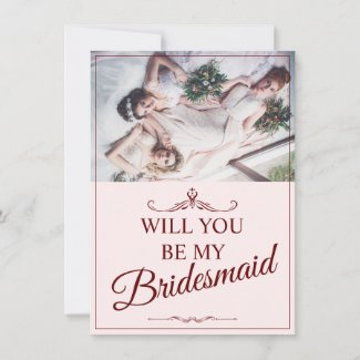Will you be my bridesmaid? Three lying bridesmaids