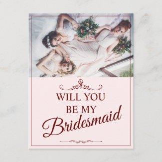 Will you be my bridesmaid? Three lying bridesmaids