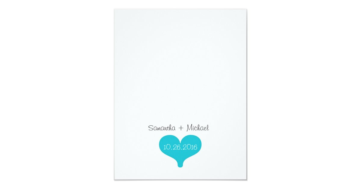 Honor Vs Honour Wedding Invitation: Will You Be My Bridesmaid? Turquoise/Black Poem V2 Card