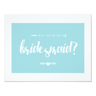 Will you be my Bridesmaid? | WEDDING Card