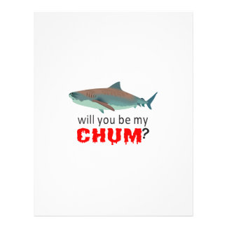 WILL YOU BE MY CHUM PERSONALIZED LETTERHEAD