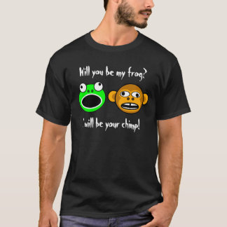 Will you be my frog? (front-only,dark) T-Shirt