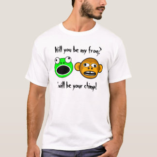 Will you be my frog? (front-only,light) T-Shirt