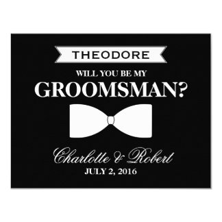 Will you be my Groomsman? | Groomsman Card