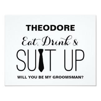Will you be my Groomsman ? | Groomsman Card