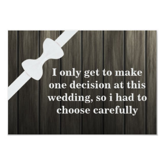 Will you be my Groomsman? Wooden Background Card