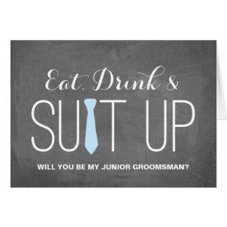 Will you be my Junior Groomsman | Groomsman Card