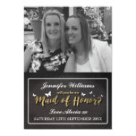 WILL YOU BE MY MAID OF HONOR CARD | PHOTO