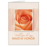 Will You Be My Maid of Honor Cards