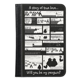 Will You Be My Penguin? iPad Mini Case