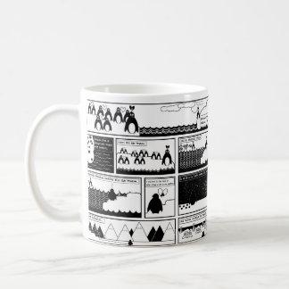 Will You Be My Penguin? Classic White Coffee Mug