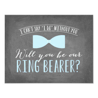Will you be my Ring Bearer ? | Groomsmen Card