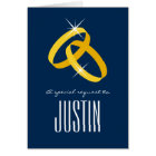 Will you be my ring bearer request card
