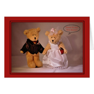 Will you be my Ring Bearer? Ring Bearer request. Card