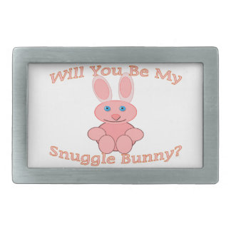 Will You Be My Snuggle Bunny Belt Buckle