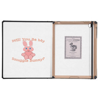 Will You Be My Snuggle Bunny Covers For iPad