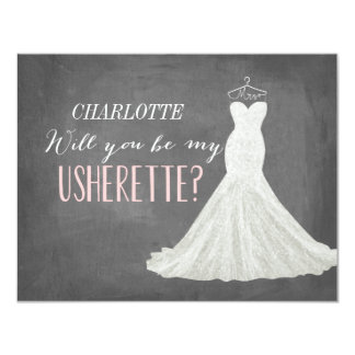 Will You Be My Usherette Card