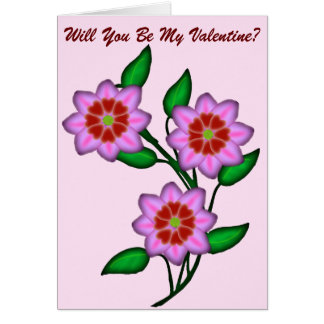 Will You Be My Valentine Card
