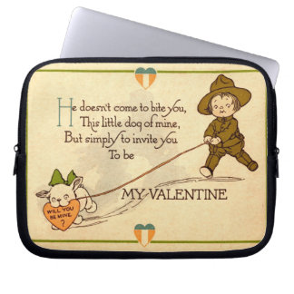 Will you be my Valentine? Laptop Bags
