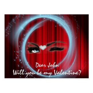 Will You Be My Valentine? Postcard
