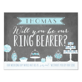 Will You Be Our Ring Bearer | Groomsman Card
