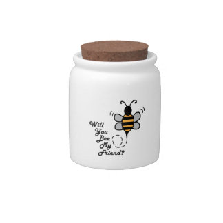 Will You Bee My Friend? Candy Dish
