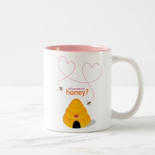 Will You Bee My Honey? mug