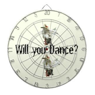 Will you Dance? Dart Board