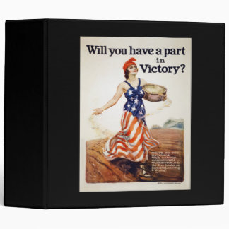 Will You Have a Part in Victory Binder