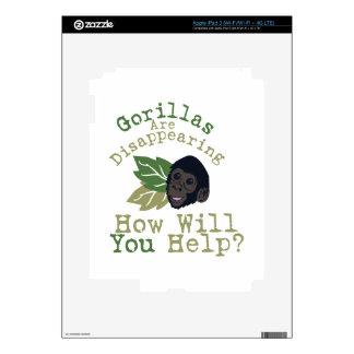 Will You Help? iPad 3 Skin