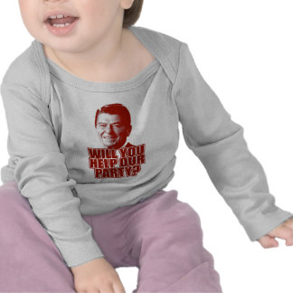 Will You Help Our Party Tshirts
