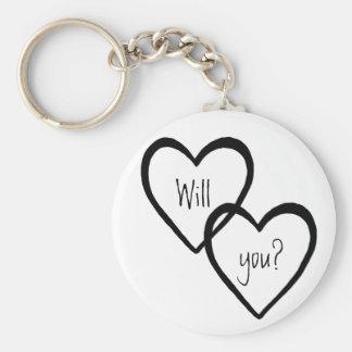 Will You? Keychain