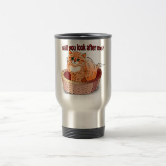Will You Look After Me? Travel Mug