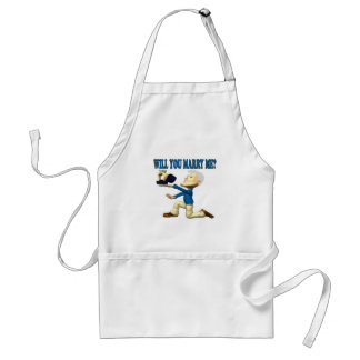 Will You Marry Me 11 Adult Apron