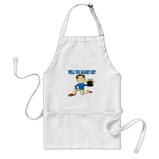 Will You Marry Me 4 Adult Apron