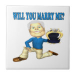 Will You Marry Me 5 Ceramic Tiles