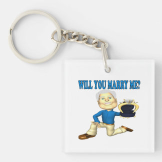 Will You Marry Me 5 Keychain