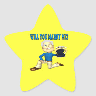 Will You Marry Me 5 Star Sticker