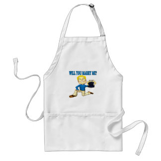 Will You Marry Me 6 Adult Apron