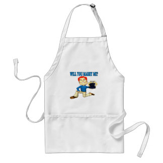 Will You Marry Me 7 Adult Apron
