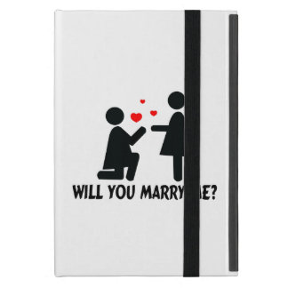 Will You Marry Me Bended Knee Woman & Woman iPad Mini Case
