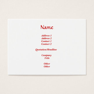 Will you marry me? business card